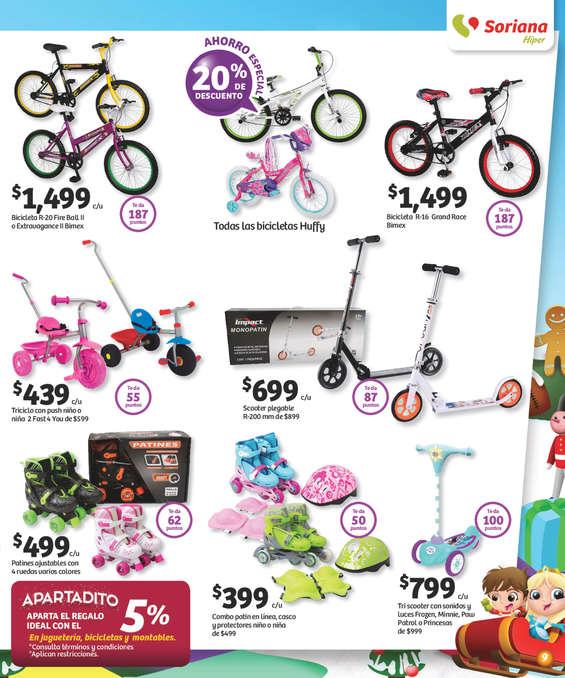 Ofertas de Soriana Híper, Reino de los juguetes