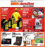 Ofertas de AutoZone, Folleto Mensual