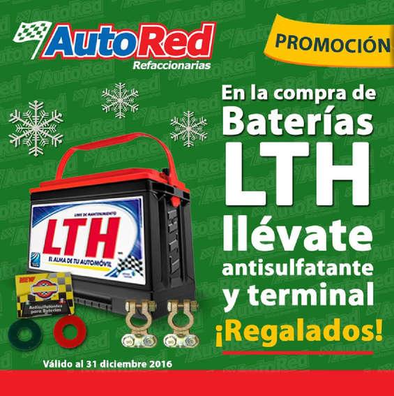 Ofertas de AUTORED, Baterías LTH