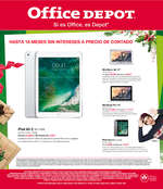 Ofertas de Office Depot, Folleto Diciembre