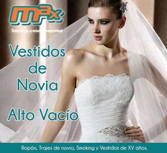 Ofertas de Tintorerías Max, Vestidos de Novia