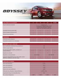 Ficha técnica Odyssey
