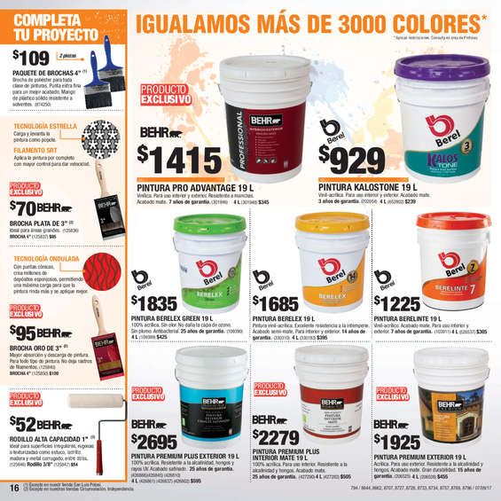 Productos construcci n en guadalajara cat logos ofertas for Home depot productos