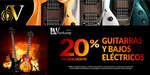 Ofertas de Veerkamp, Descuento en guitarras y bajos