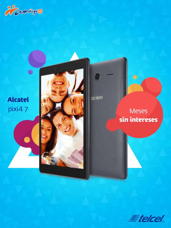 Ofertas de Telcel, Alcatel Pixi4 7