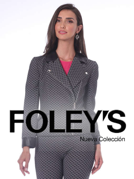 Ofertas de FOLEY'S, Nueva Colección