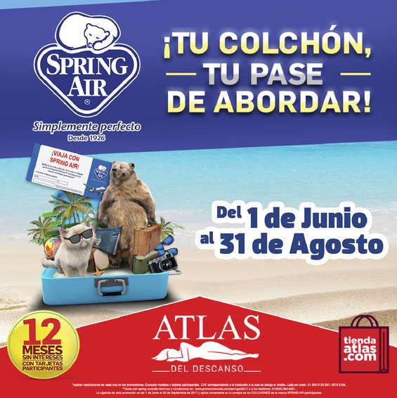 Ofertas de Atlas Del Descanso, ¡Tu colchón, tu pase de abordar!