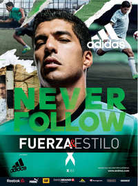 Adidas Never Follow