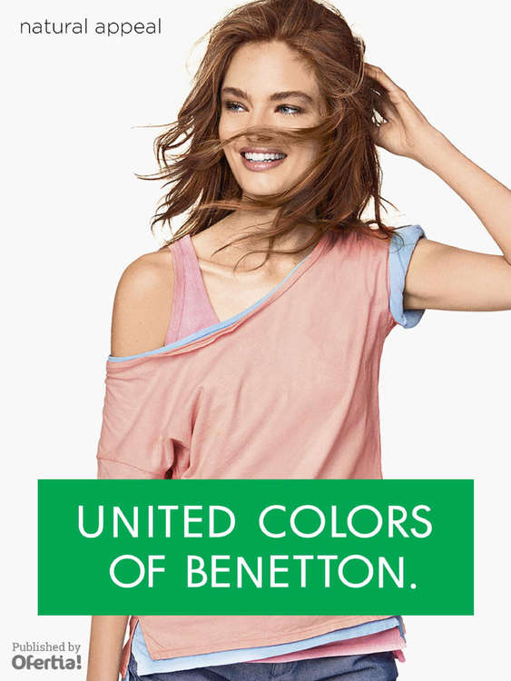 Ofertas de Benetton, Natural Appeal