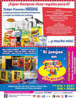 Ofertas de SÚPER KOMPRAS, Folleto Mayo