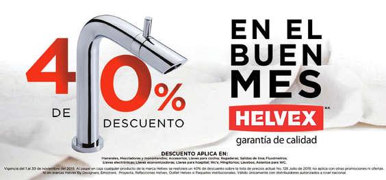 Ofertas de Helvex, En el buen mes