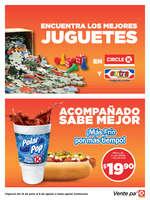 Ofertas de Circle K, Promociones Sur