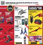 Ofertas de AutoZone, Septiembre