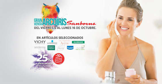 Ofertas de Sanborns, Gran Venta Arcoíris - Parafarmacia