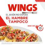 Ofertas de Wings, El avión no espera, el hambre tampoco