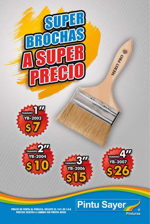 Ofertas de Sayer, Super Brochas a Súper Precio