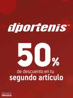 Ofertas de Dportenis, 50% en tu segundo artículo
