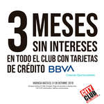 Ofertas de City Club, 3 Cuotas Sin Intereses