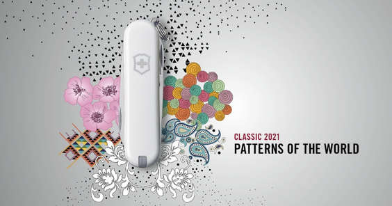 Ofertas de Victorinox, Classic 2021 Patterns Of The World