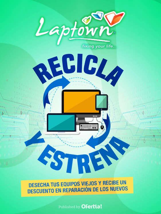 Ofertas de Laptown, Recicla y estrena