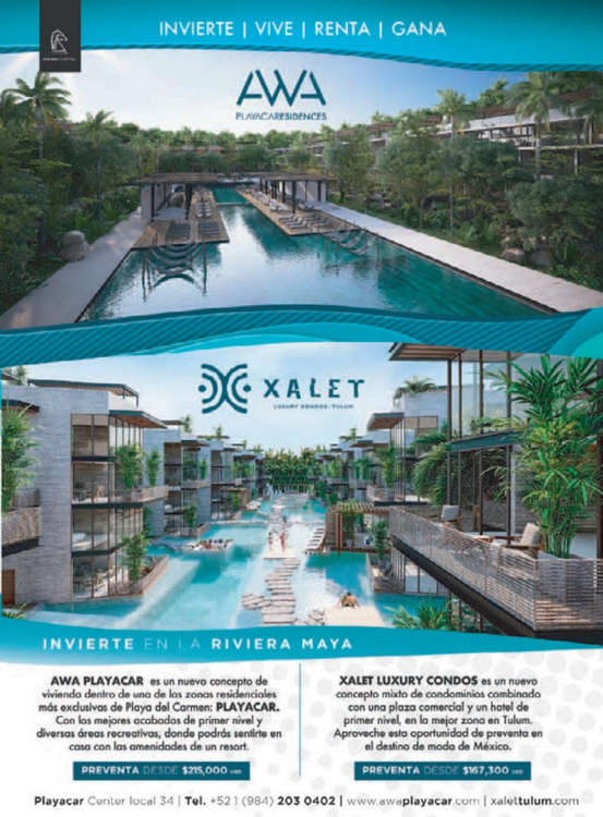Ofertas de Interjet, Revista Interjet Septiembre 2019
