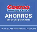 Ofertas de Costco, Cuponera Septiembre