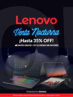 Ofertas de Lenovo, Lenovo venta nocturna