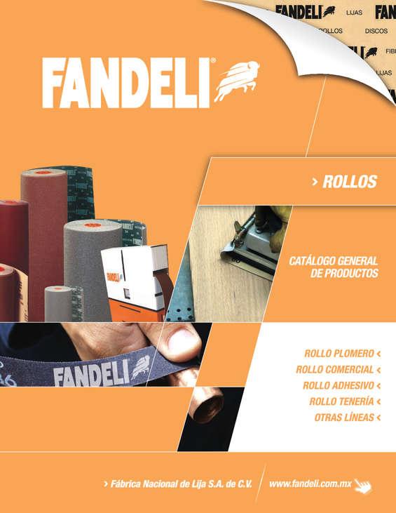 Ofertas de Fandeli, Catálogo Rollos