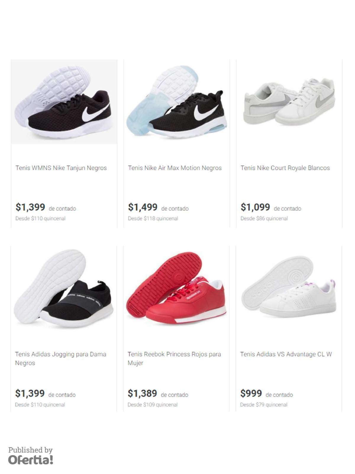 online store 4e556 3971d Marcas zapatillas en Miguel Hidalgo - Catálogos, ofertas y tiendas donde  comprar barato  Ofertia