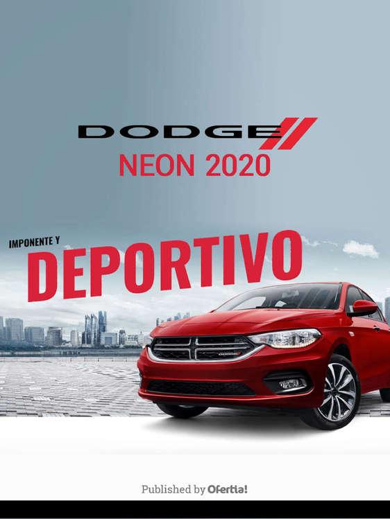 Ofertas de Dodge, Dodge neon 2020