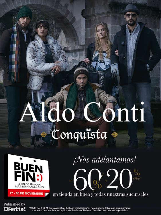 Ofertas de Aldo Conti, Buen Fin