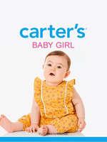 Ofertas de Carter's, Baby girl