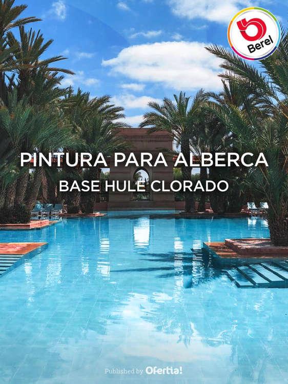 Ofertas de Berel, Pintura para Alberca Serie 15000