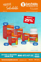 Ofertas de San Pablo Farmacia, Mantente saludable