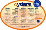 Ofertas de Fisher's, Oyster's