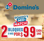 Ofertas de Domino's Pizza, Mix & Match