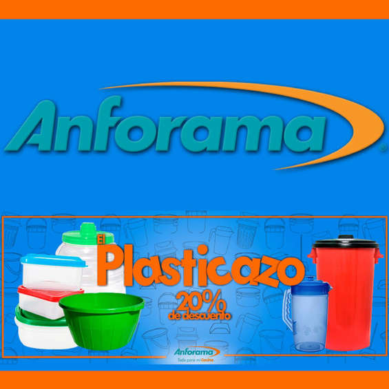Ofertas de Anforama, Plasticazo 20% de descuento