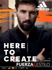 Andrea Adidas - Here To Create