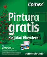 Ofertas de Comex, Pintura gratis Regalón Navideño