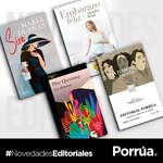 Ofertas de Librería Porrúa, ¡Estas son algunas novedades de mayo!