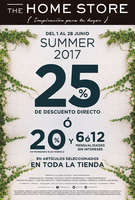Ofertas de The Home Store, Summer 2017