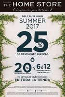 Ofertas de The Home Store, Summer 2017