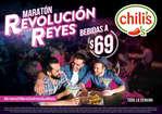 Ofertas de Chili's, Maratón Revolución Reyes