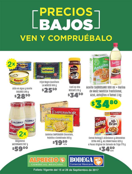 Ofertas de Bodega Comercial Mexicana, Precios Bajos