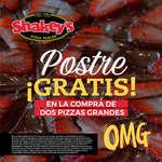 Ofertas de Shakey's Pizza, Postre gratis