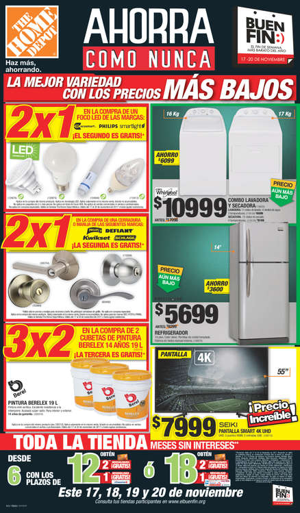 The Home Depot Ofertas Cat Logos Y Folletos Ofertia