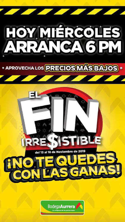 Ofertas de Bodega Aurrera, Promociones Buen Fin