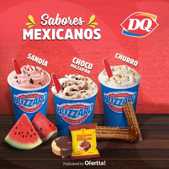 Ofertas de Dairy Queen, Sabores mexicanos en Dairy Queen
