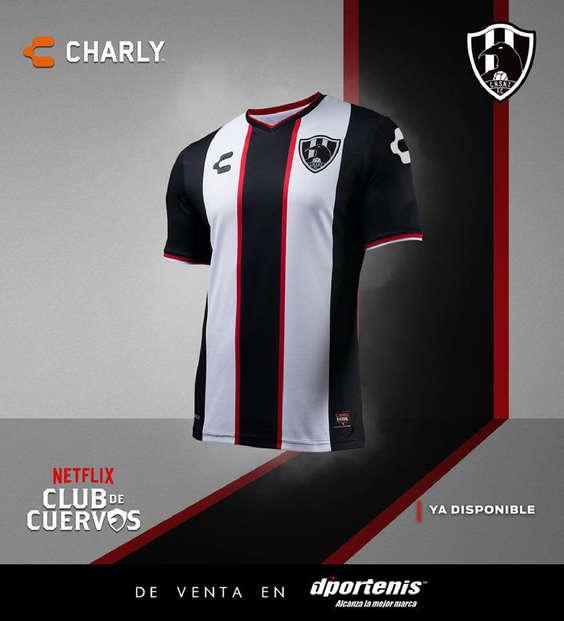 Ofertas de Dportenis, Jersey Cuervos Negros Salvajes de Nuevo Toledo F.C