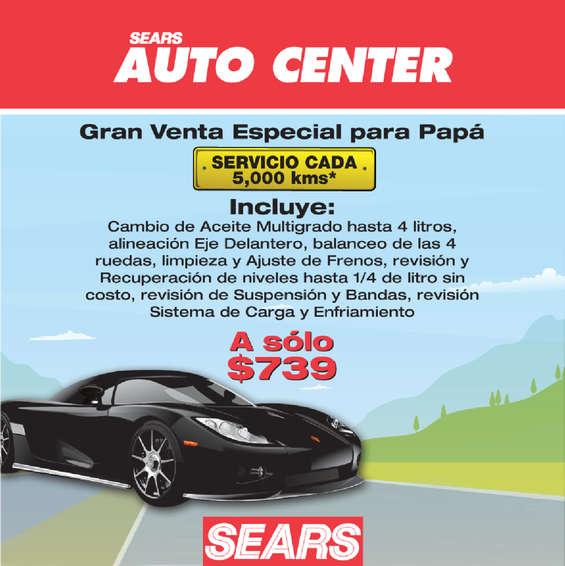 Ofertas de Sears, Sears auto center